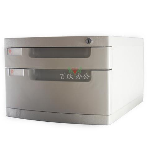 永益 米白 塑料文件柜 YY611 二层