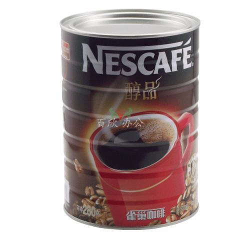 Nestle雀巢咖啡醇品黑咖啡罐装 500g 可冲277杯