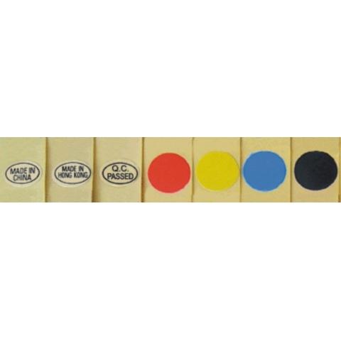 彩色不干胶贴纸 214#/13φmm 彩色