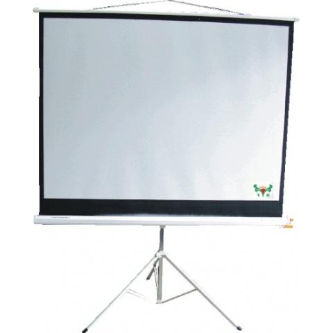 70寸178*178cm支架式投影屏幕
