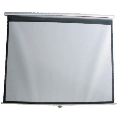 100寸152*203cm手拉式投影屏幕