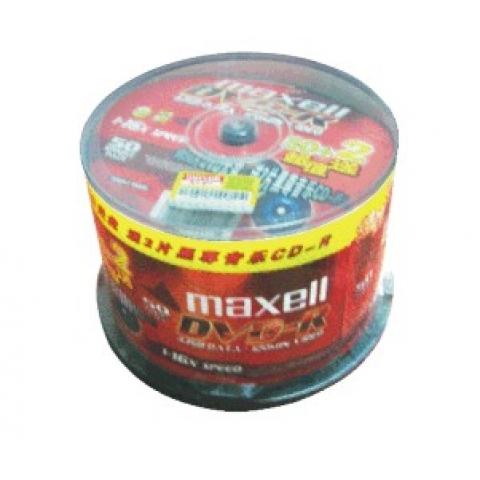 万胜(maxell) 一次性刻录光碟DVD-R 50片桶装