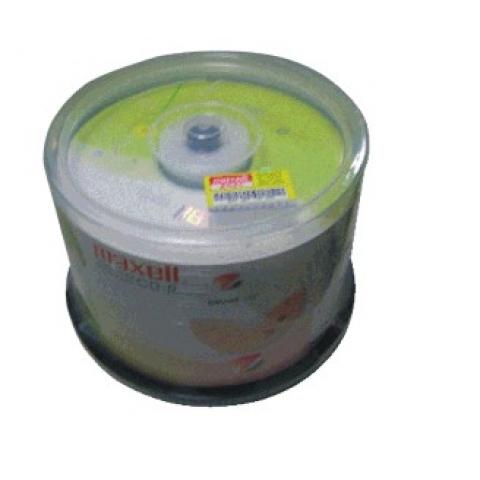 万胜(maxell) 一次性刻录光碟CD-R 50片桶装