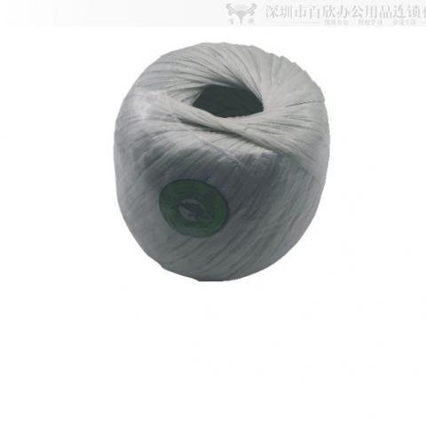 加长白色扁胶绳 约300米