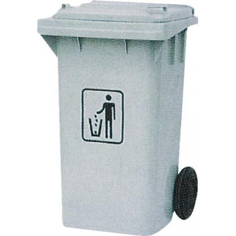 120l侧轮移动塑料垃圾桶