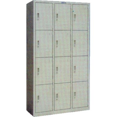 德堡 十二门储物柜BS027  W-55  1800*900...