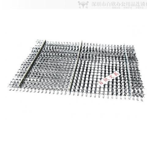 9.5MM装订铁环 装订60张双铁圈 100条/盒