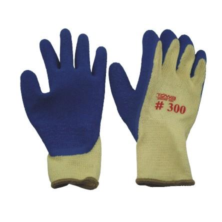 代尔塔透气涂胶手套  黑色-1