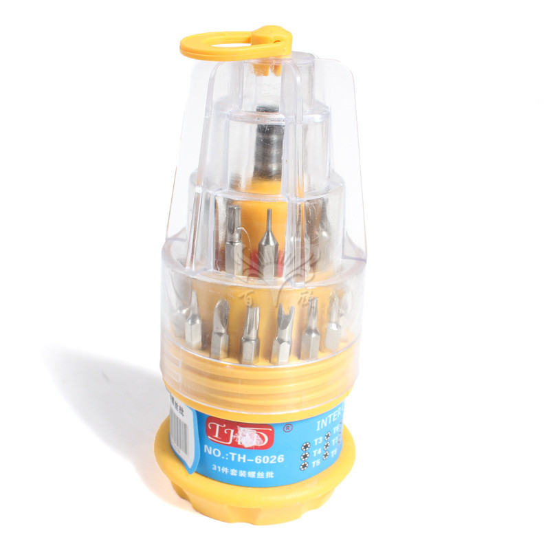 筒装组合螺丝起子6036 31合一-6