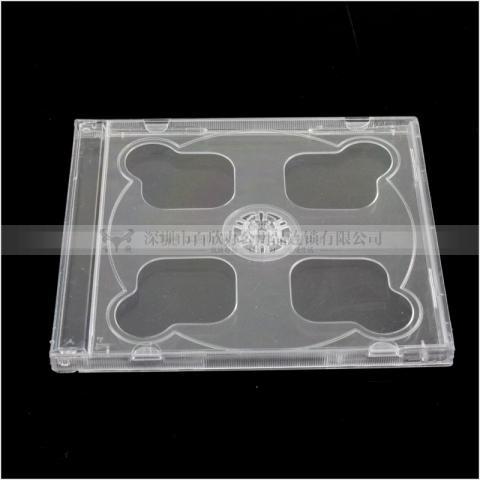 透明硬壳CD盒 双面