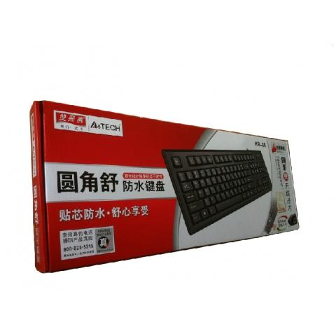 双飞燕防水键盘 KR-85 USB接口