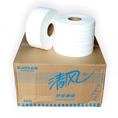 清风大卷纸BJ05A  850g 275米双层 12卷 /箱