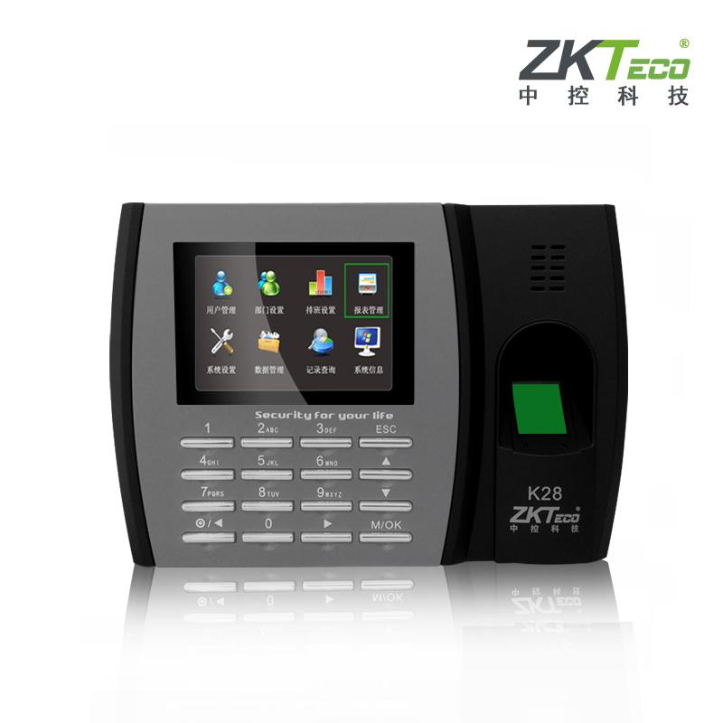 中控指纹考勤机K28-6