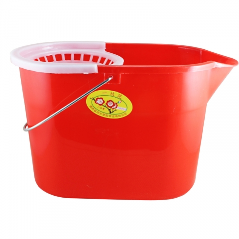 塑料地拖桶