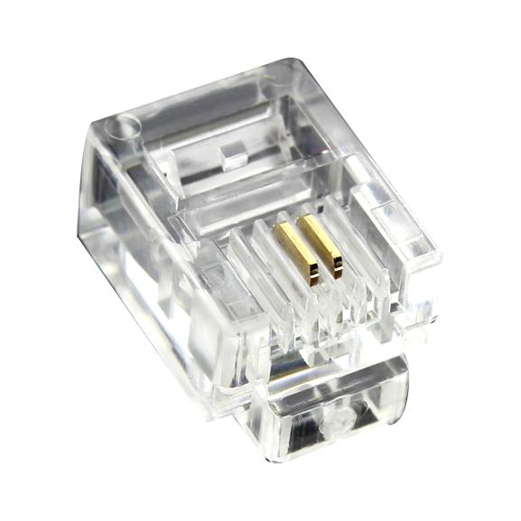 2芯电话线《水晶头》-2