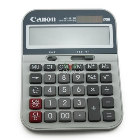 佳能 商务办公用计算器 WS-1212H 中号