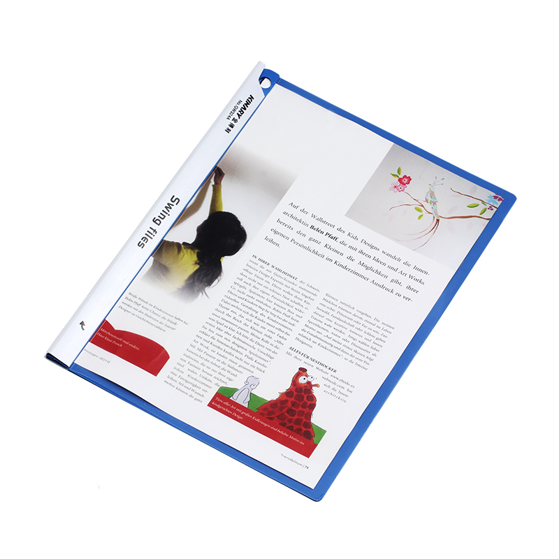 金得利拉杆报告夹 QW324A A4 容纸量50张-3