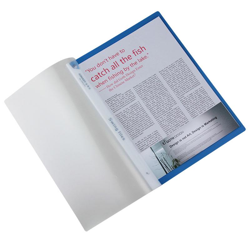 金得利拉杆报告夹 QW324A A4 容纸量50张-4