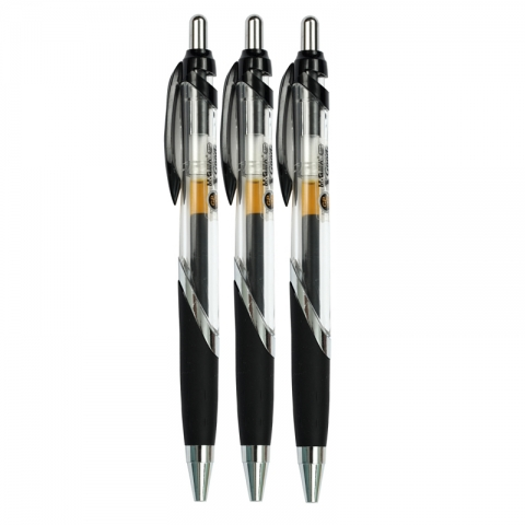 晨光按键啫喱笔GP-1350 0.5mm  黑
