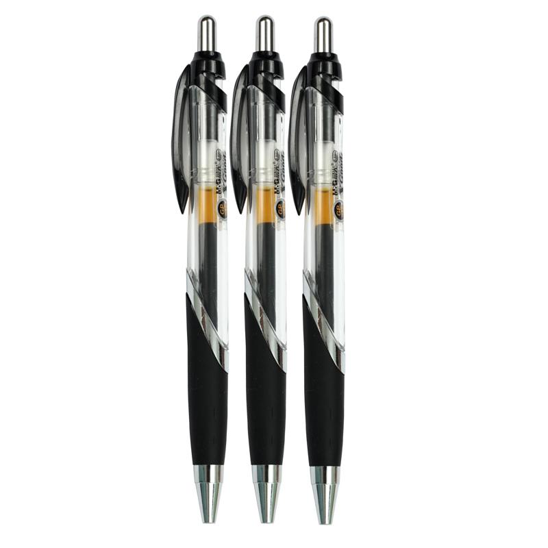 晨光按键啫喱笔GP-1350 0.5mm  黑-1