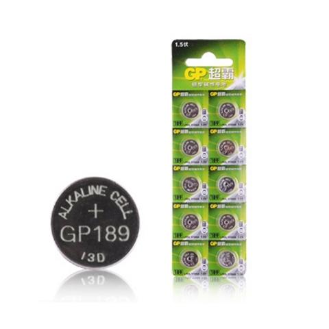 GP超霸 1.5V纽扣电子石 189/389A/AG10/L...