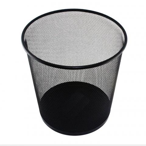 可得优金属网状纸篓BS65002/LJ-02  黑色 H28...
