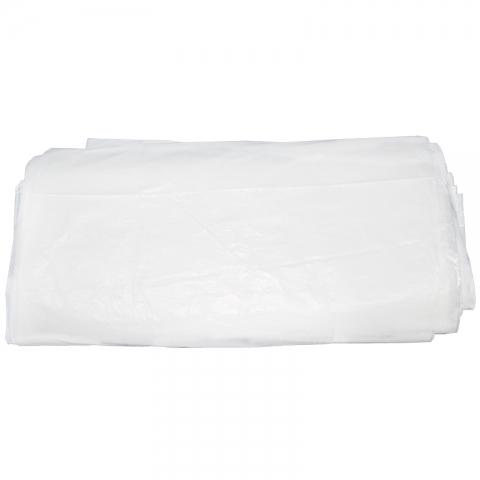 白色垃圾袋45*50B平口白     60个/扎