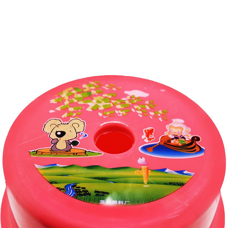 塑料圆筒椅 冬菇型 H 20.5cm-2