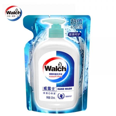 威露士525g袋装洗手液(清新薄荷)12袋