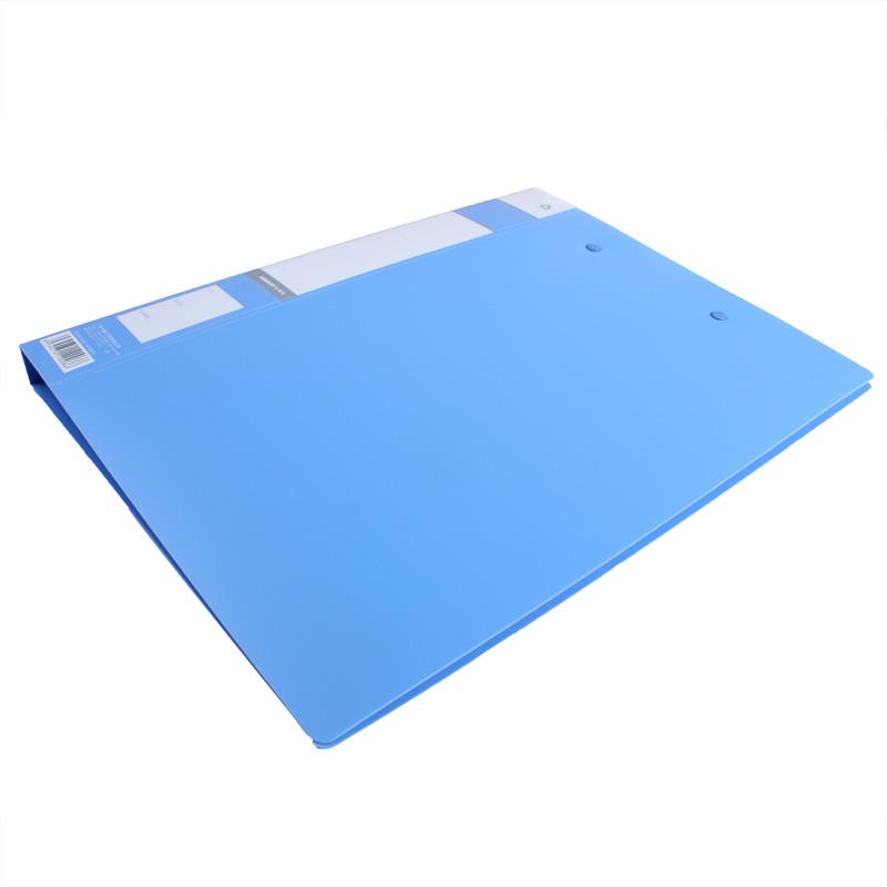 金得利AF502  强力单夹 蓝色-2