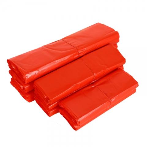 手提红胶袋30*50  30个装