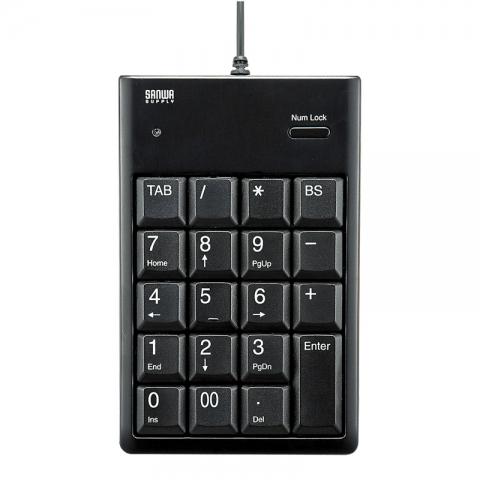 山业USB数字小键盘 NT-16U 黑色