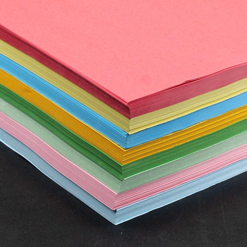 BESSIE彩色复印纸BS8101 A4 80G(100张) 粉红-3