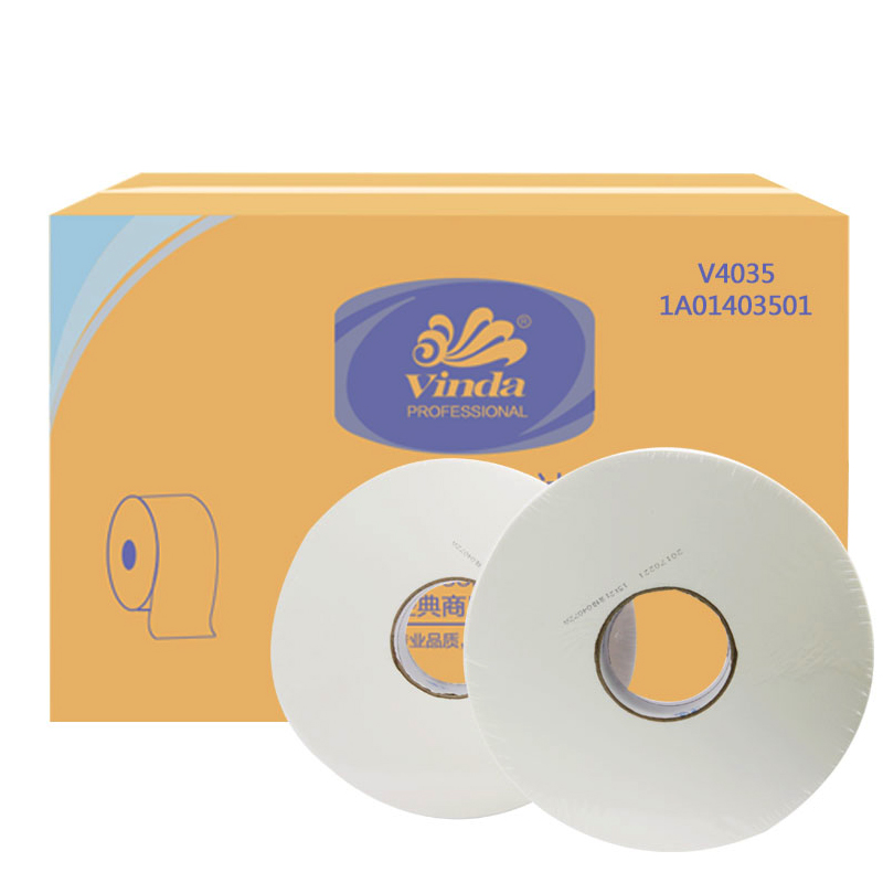 维达牌纸巾(共用装)  V4035 每箱12卷 280米双层-6