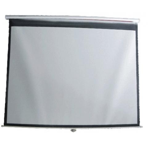 60寸152*152cm手拉式投影屏幕