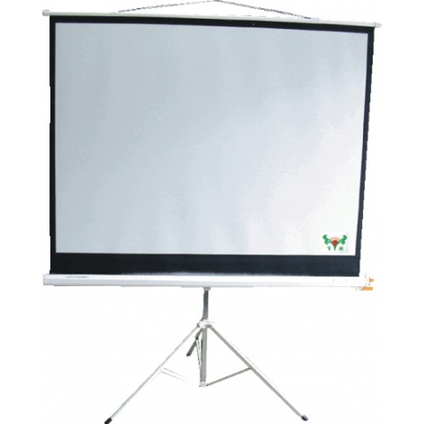 60寸152*152xm支架式投影屏幕