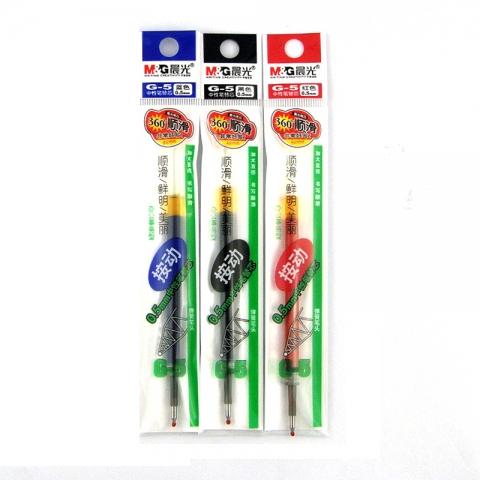 晨光按键啫喱笔笔芯G-5 0.5mm