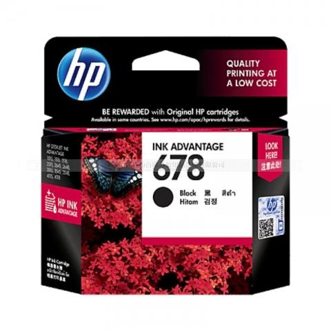 (下单请先询价)惠普HP 678墨盒(黑色)(适用HP De...