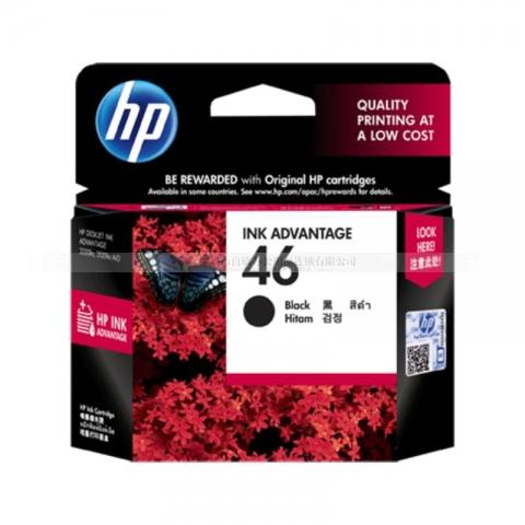(下单请先询价)惠普HP46墨盒(黑)(适用Deskjet ...