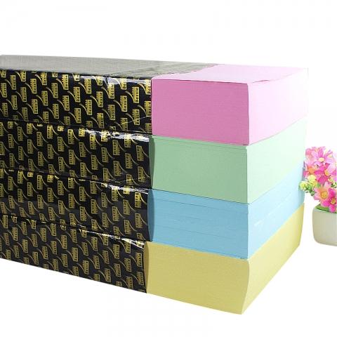 Bessie尚品智彩色复印纸A4 80G(500张)4色 5包/箱