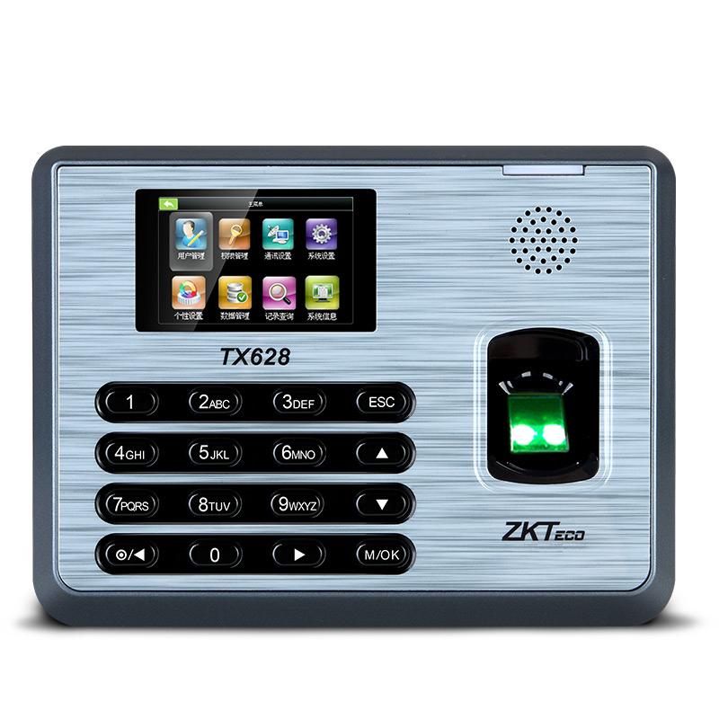 中控指纹考勤机TX628-6