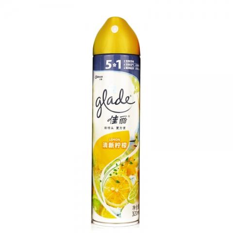 佳丽空气清新剂  淸新柠檬320ml