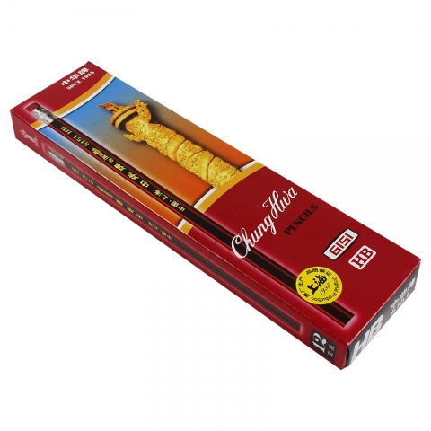 中华木制铅笔 6151/HB  12支/盒 需要一盒的拍12支