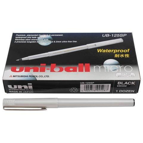 三菱uni 铁嘴 签字笔 UB-125 0.5mm