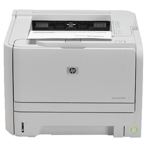 (下单请先询价)惠普激光商用打印机P2035  黑白