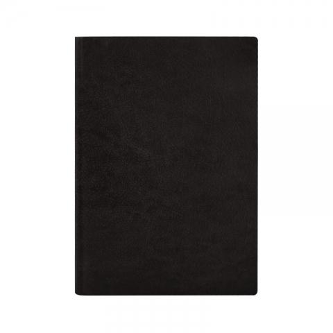 金得利B5商务皮面笔记本NT202黑色  100页